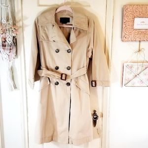 BCBGMaxAzria Belted Trench Coat